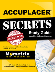 ACCUPLACER Exam Study Guide