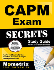 Certified Associate in Project Management Exam CAPM Study Guides and Flash Cards