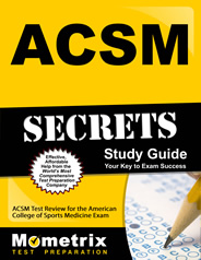 American College of Sports Medicine Certified Personal Trainer ACSM Exam
