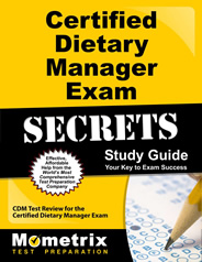 Certified Dietary Manager Exam Study Guide